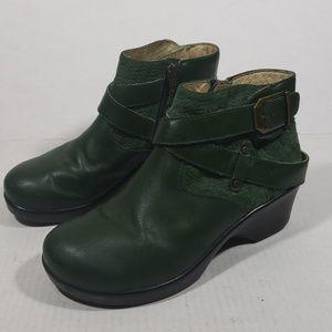 Alegria Eva Leather Comfort Boots sz 37